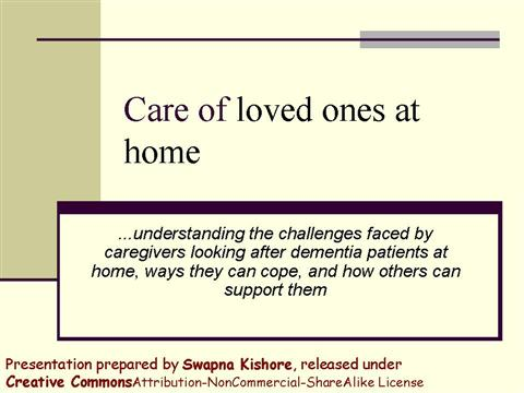 dementia home care slide 1