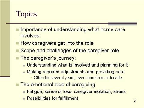 dementia home care slide 2