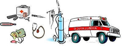 various things relevant for home care and medical emergencies